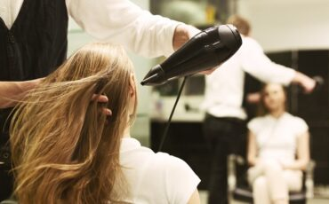 Blow Dry at a Salon